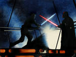 Star Wars- Luke VS Darth Vader