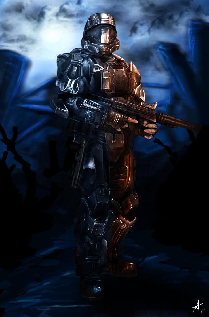 Halo: ODST by DookieAdz