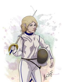 Half-elf-Fencer
