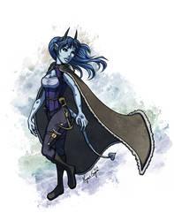 Tiefling Draconic Sorcerer