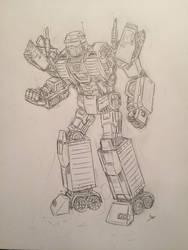 Freight, Autobot Supply Specialist OC
