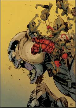 Hellboy vs Monsters