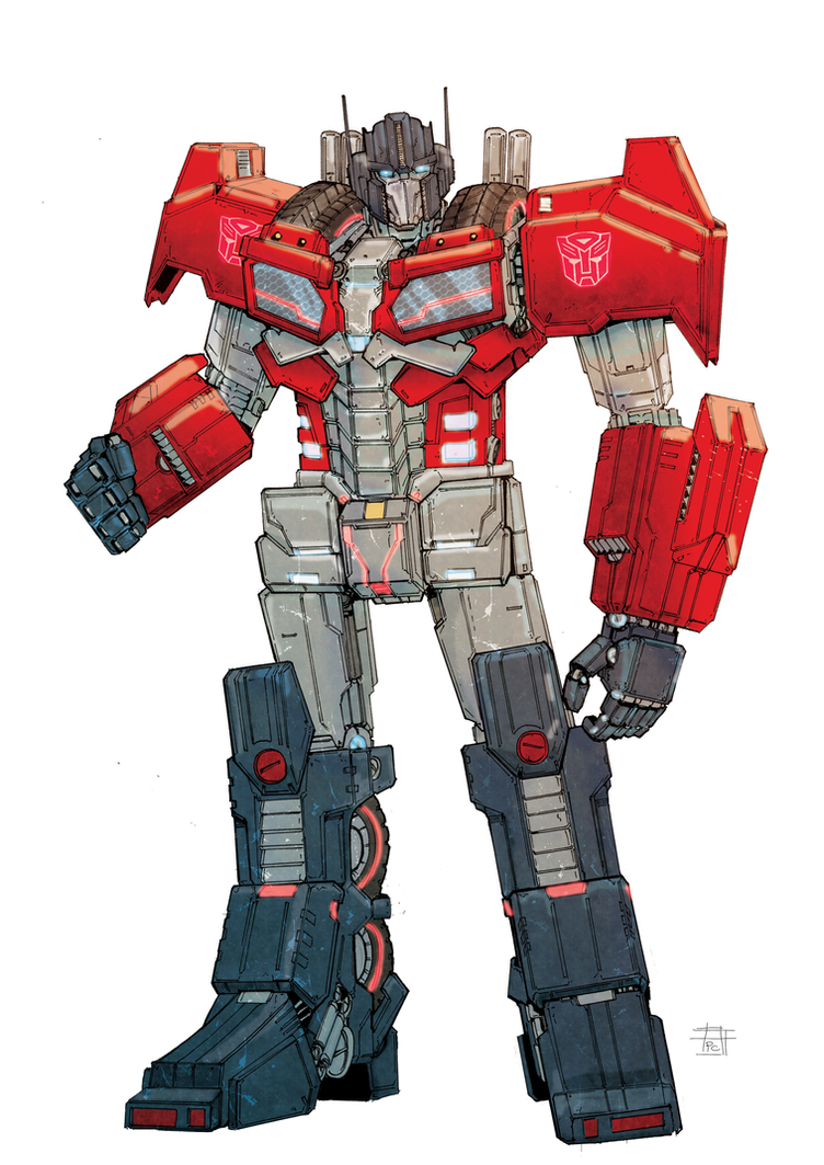 Optimus-cybertron by Ultrafpc