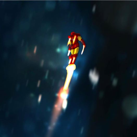 Iron man by Ultrafpc