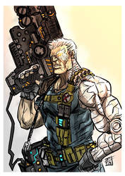 Cable X men by Ultrafpc