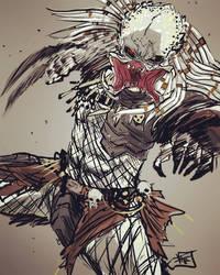 Albino Predator by Ultrafpc