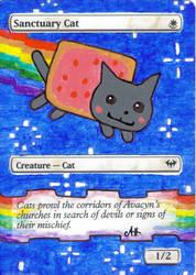 Sanctuary Nyan Cat by KodamaEru