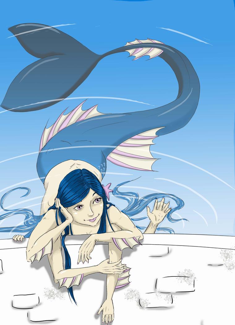 Mermaid commission by KodamaEru