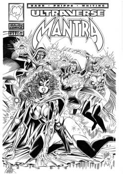 Rob Phipps Mantra #11 Cover