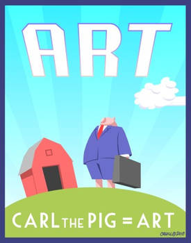 Carl is Art