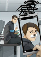 detroit become human connor by kayin1020