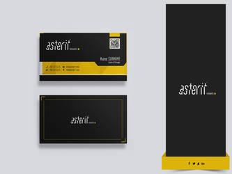 business card by mkadzyn