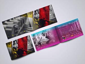 fitness catalog template design