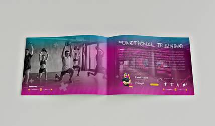 fitness catalog template design #3