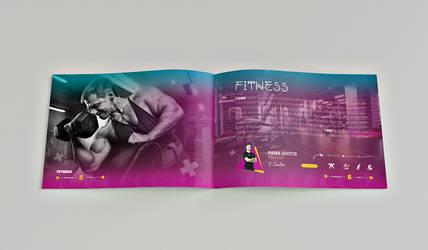 fitness catalog template design #4