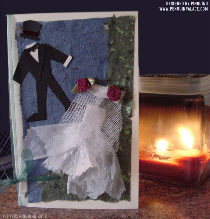 Wedding Card by pinguino