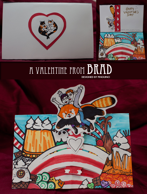 Valentine for Cat by pinguino