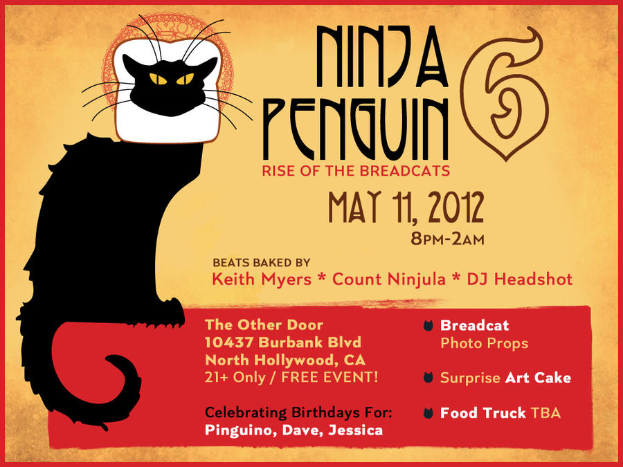NinjaPenguin 6 Flyer by pinguino