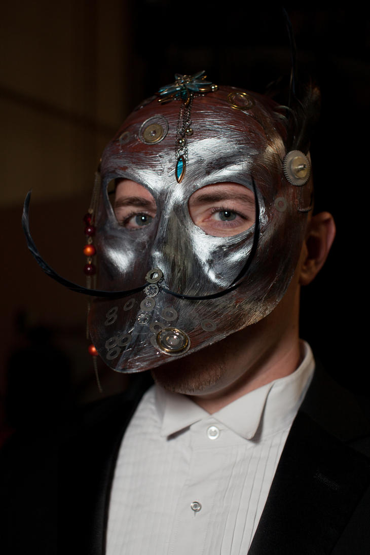 Steampunk Mask by pinguino