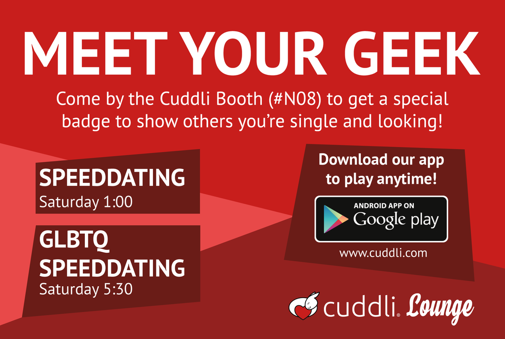Speeddating Front Postcard V2 by pinguino