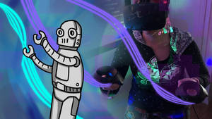 Robot in VR
