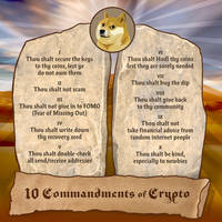 10 Commandments of Dogecoin