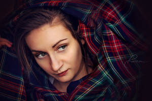 scarf - selfportrait by BlackSheep90