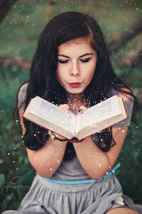 Magic book by BlackSheep90