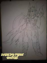 Freebane Sketch: Talsin Shiryu, the Dragon King by S-E-Nirvana