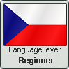 Stamp: Czech Language Beginner by Alpanu