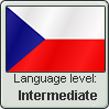 Stamp: Czech Language Intermediate by Alpanu