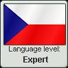 Stamp: Czech Language Expert by Alpanu