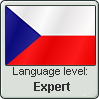 Stamp: Czech Language Expert by Alpanu