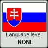 Stamp: Slovak Language None by Alpanu