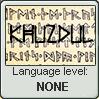 Language stamp: Khuzdul lvl none by Alpanu