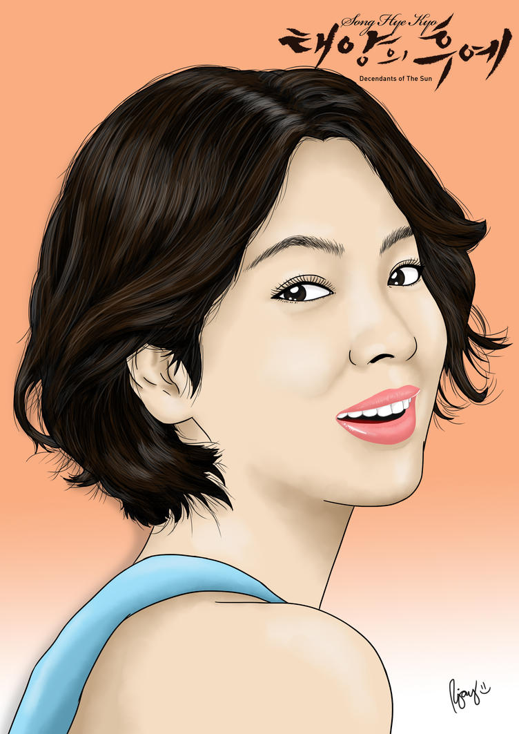 Song Hye Kyo by JayofArtistika