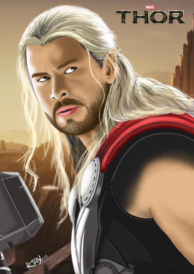 Thor by JayofArtistika