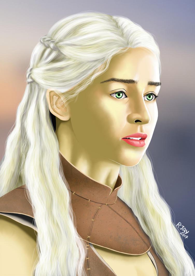 Daenerys Targaryen by JayofArtistika
