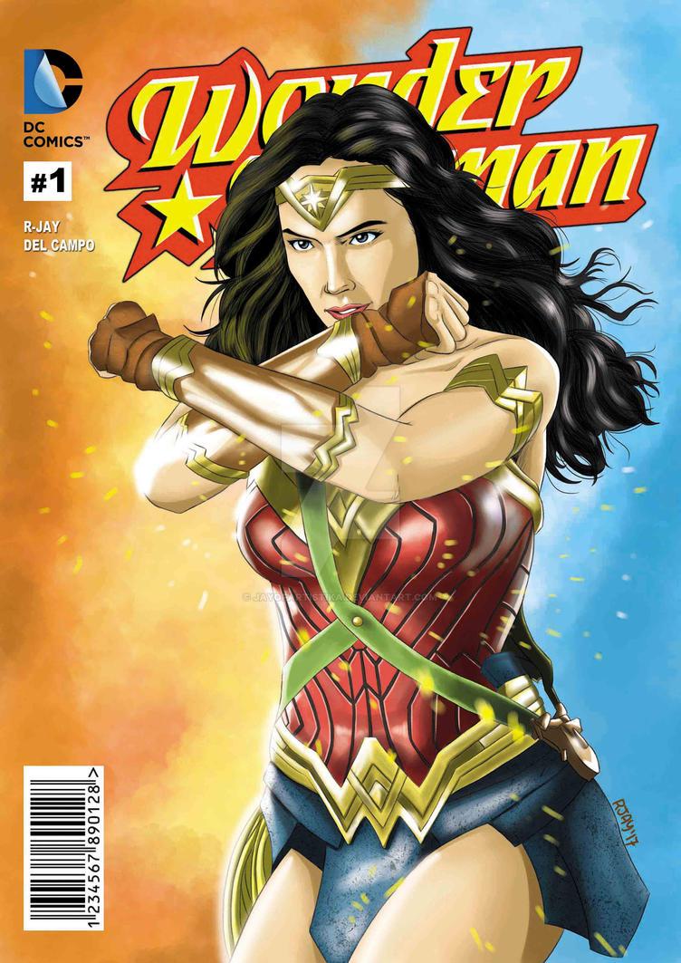 Wonder Woman by JayofArtistika