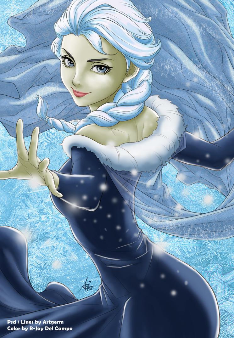 Elsa by JayofArtistika