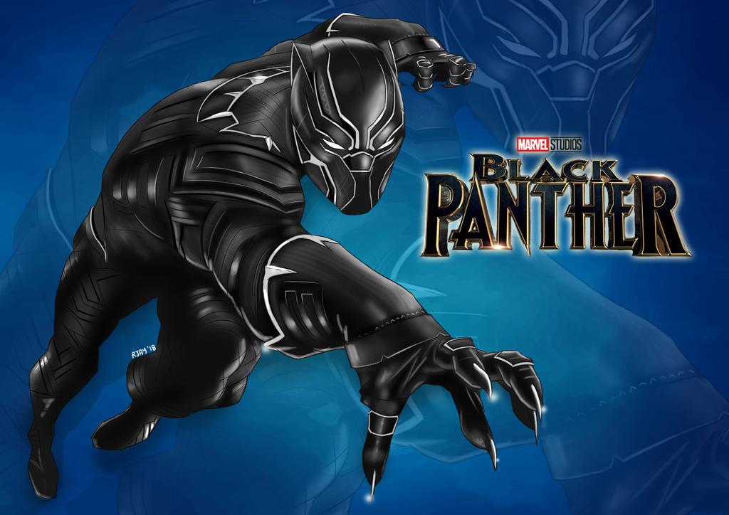 Black Panther By Portela On Deviantart: Black Panther By JayofArtistika On DeviantArt