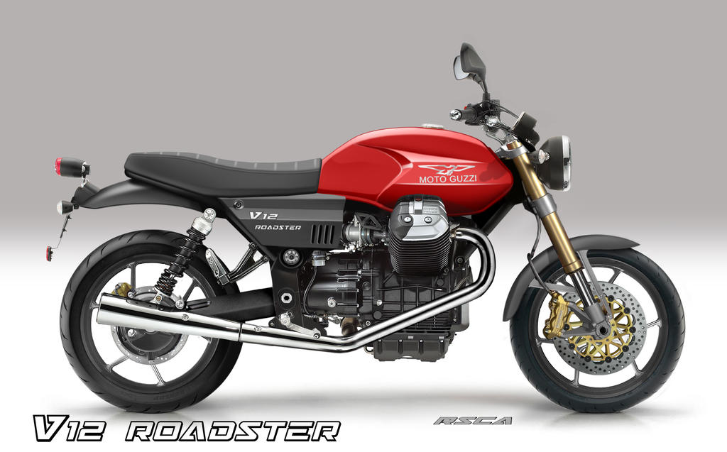moto guzzi v12 roadster by rsca3215 on deviantart. Black Bedroom Furniture Sets. Home Design Ideas