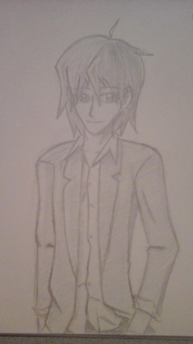 Manga boy, gentleman by Necrofeu
