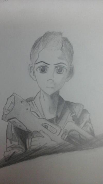 War manga character by Necrofeu
