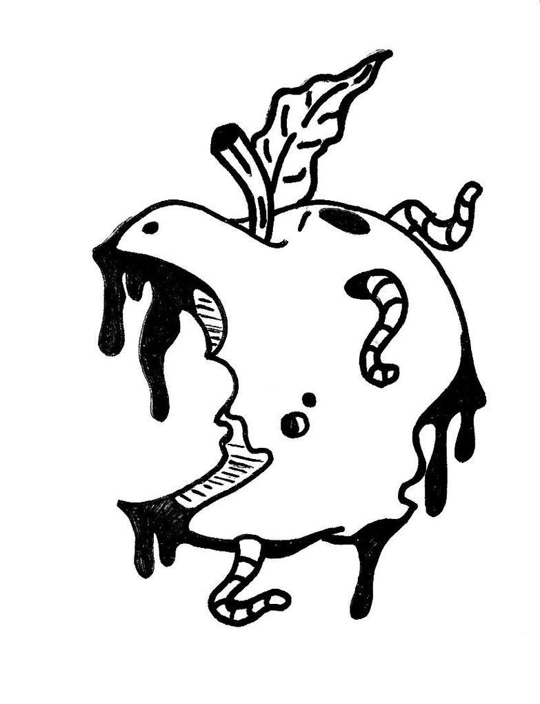 rotten apple by willsonn on DeviantArt