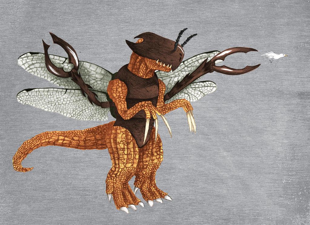 Ketasaurus by idunknowwho