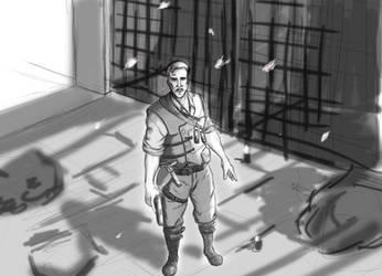 Richtofen sketch by arianat
