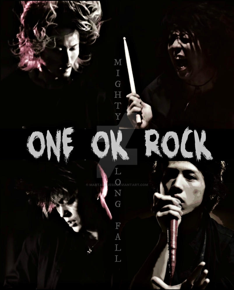 Mighty Long Fall One Ok Rock By Martalovess On Deviantart