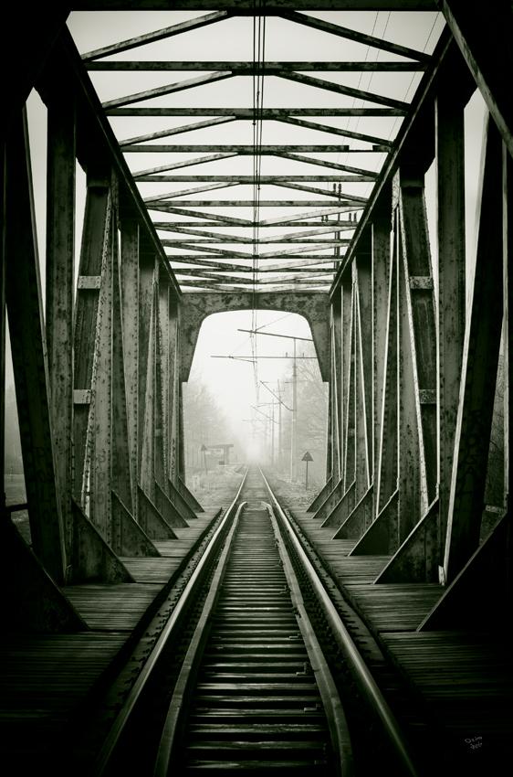 Railway track by ozimek on DeviantArt