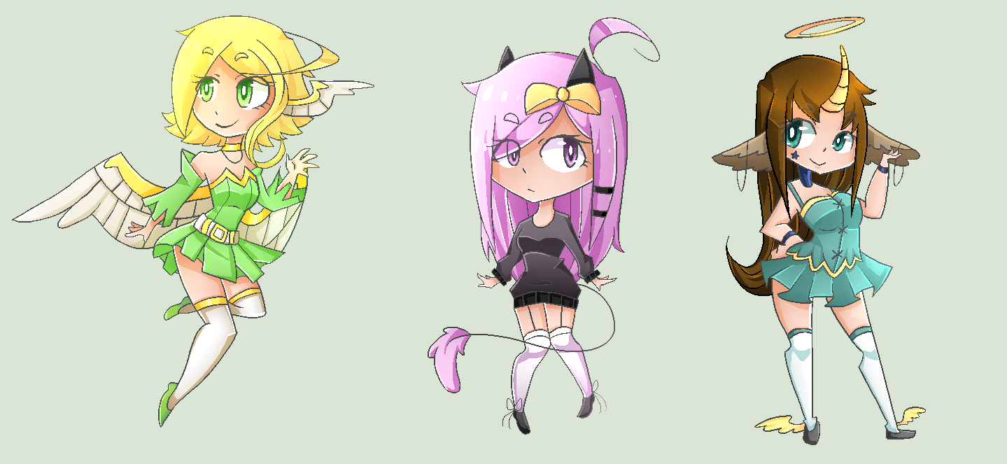 Extras for adopts by KillyPopp
